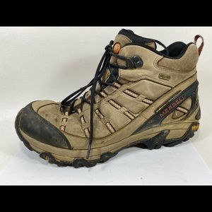 Merrell Outland Mid Brown Hiking Boot Sz 11/45M